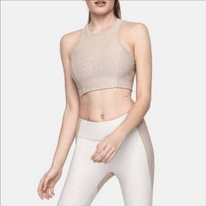 Athena crop top limited release color Oatmeal XS